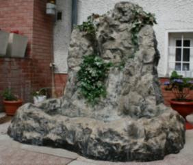 cascada roca artificiala dolomite
