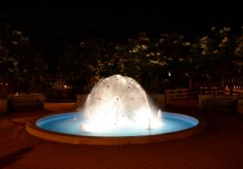 fantana arteziana sfera 1 m